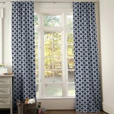 Navy Patterned Curtains Adorable Navy And White Patterned Curtains Designs With Navy