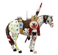war pony ornament pony ornaments figurines one price low flat