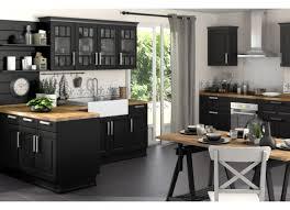 cuisine noir mat beautiful cuisine noir mat et bois photos lalawgroup us avec cuisine