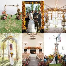 Wedding Altar Backdrop Fabulous Fall Wedding Altars From Rustic To Glam Crazyforus