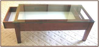 glass top coffee table with storage glass top coffee table ideas for coffee lovers