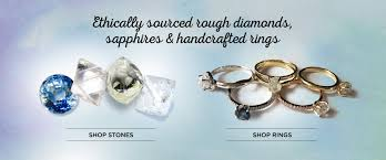 gem stones rings images Rough diamonds ethical gemstones and custom engagement rings jpg