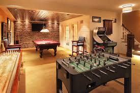Arcade Room Ideas by Sports Retreat Princeton Nj