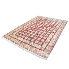 7 x 10 area rug 7 u0027 x 10 u0027 persian kilim rug made of pure silk kheshti pattern