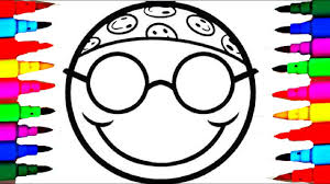 how to color faces emoji u0027s coloring pages l coloring drawing