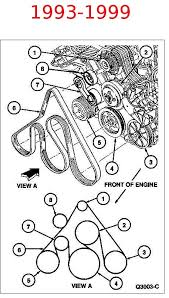 ford crown victoria fead belt routing