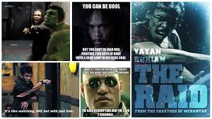 Raid Meme - the raid redemption 2011 one minute review raj s reviews