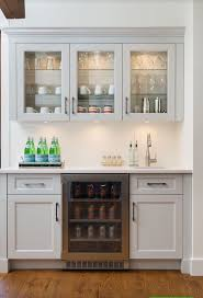 kitchen designs white minimalist kitchen design with beverage wet bar ideas white