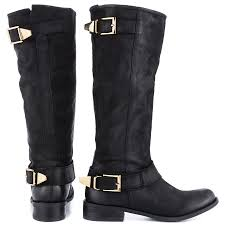 ladies leather motorcycle boots suspekt black leather steve madden 189 99 free shipping