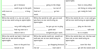 writing contractions ks1 spag test practice classroom secrets