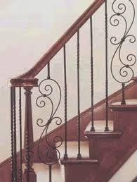 Stair Banisters Railings 16 Best Wrought Iron Banister Images On Pinterest Stairs