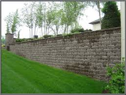 keystone country manor chocolate retaining wall units