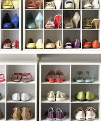 Garage Shoe Organization Ideas - the 20 pair medium shoe cubby is your solution to a messy closet
