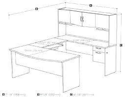 L Shaped Desk Dimensions L Shaped Desk Dimensions Average Computer Lab How To Measure U