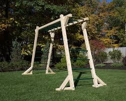 free standing monkey bars