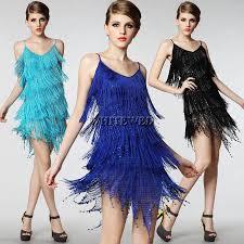 Gatsby Halloween Costumes Roaring Finge Sequin Spaghetti Strap Twenties Gatsby Girls