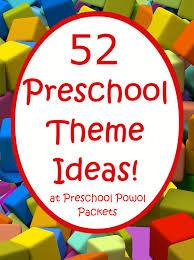 52 preschool themes u0026 free 2016 2017 preschool theme calendar