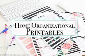 printable calendar home organization home binder archives blooming homestead
