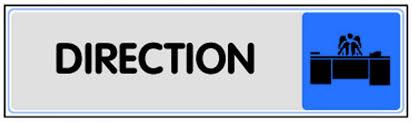 panneau de bureau plaquettes de porte série plexiglass couleur panneaux de
