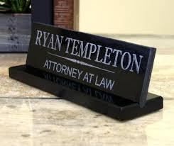plaque de bureau personnalisé plaque signalétique de bureau personnalisé granit bureau nom