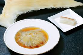au f駑inin cuisine braised superior shark s fin in brown sauce greater china
