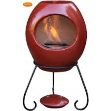 Red Clay Chiminea Buy Genuine Mexican Clay Chimineas Free Delivery Chimineashop