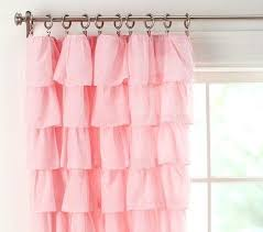 Light Pink Blackout Curtains Soft Pink Blackout Curtains Catchy Light Pink Ruffle Curtains And