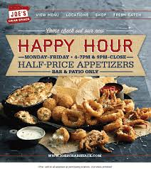 coupons for joe s crab shack pinned june 2nd 50 appetizers weekdays during happy hours at