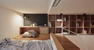 Small Built In Desk This Small Loft Apartment Is Designed To Include Everything They