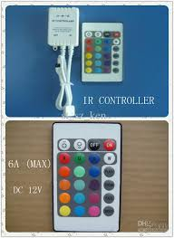 rgb led light controller advanced micro control unit 24 keys rgb led light controller