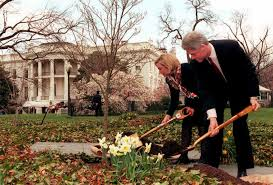 homes where the clintons have lived photos abc news