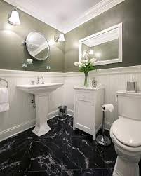 Vinyl Flooring For Bathrooms Ideas Black Floor Bathroom Mobroi Com