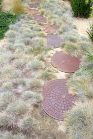 round stepping stones for garden home outdoor decoration