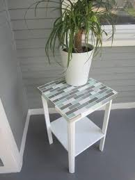 How To Build A Cheap End Table by To Tile A Small Table Top