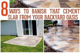 How To Cement A Patio How To Cement Backyard Outdoor Goods