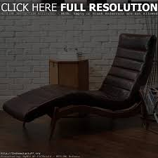 chair amazon com cleveland brown leather curved chaise lounge