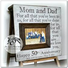 50th anniversary gift ideas for parents 50th wedding anniversary gifts for parents 50th anniversary gift