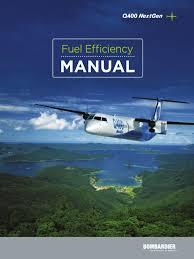 q400 manual takeoff aircraft