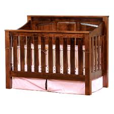 Solid Back Panel Convertible Cribs Mission Panel 4 In 1 Convertible Baby Crib Made In Usa Baby Eco