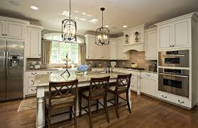 chicago thomasville kitchen cabinets traditional with pendant