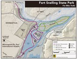 First Landing State Park Map by Mn Bike Trail Navigator 2014