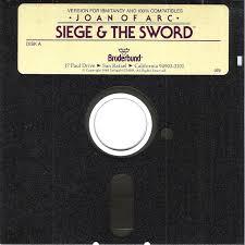 siege ibm joan of arc siege the sword 1989 amiga box cover mobygames