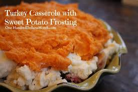 thanksgiving leftover recipes turkey casserole with sweet potato