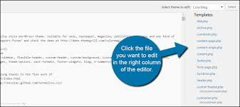 how to view and edit wordpress theme files greengeeks