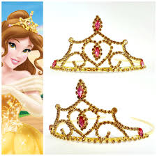 halloween crowns and tiaras princess belle crown the beauty and the beast belle crown