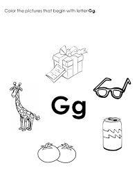 free printable worksheets the alphabet letter g
