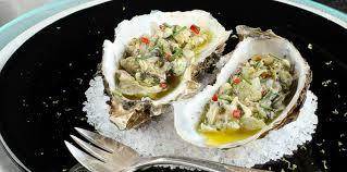 comment cuisiner des huitres céviche d huîtres aux citron vert et gingembre facile recette sur