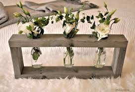 Home Depot Flower Projects - rustic wood centerpiece monthly home depot gift challenge hometalk