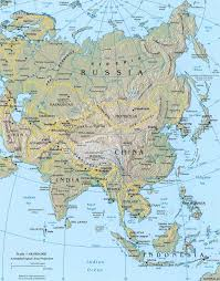 Map Of China And India by Asia Map Jpg