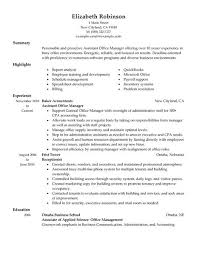 Office Manager Sample Resume Resume Example Resume Example Graphic Design Graphic Design